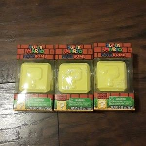Lot Super Mario Bath Bomb